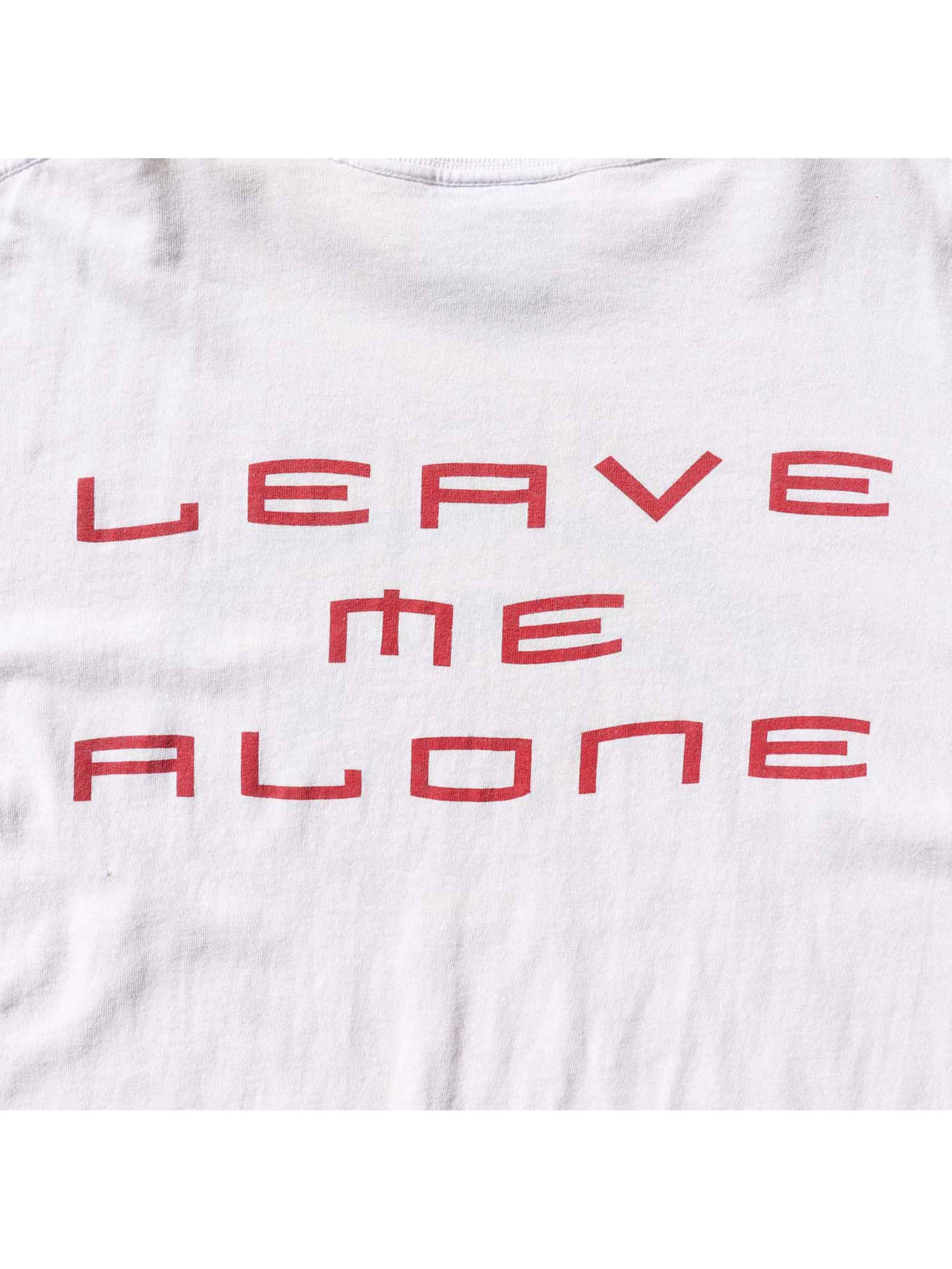"90's THE SMASHING PUMPKINS ""LEAVE ME ALONE TOUR"" Tシャツ [XL]"