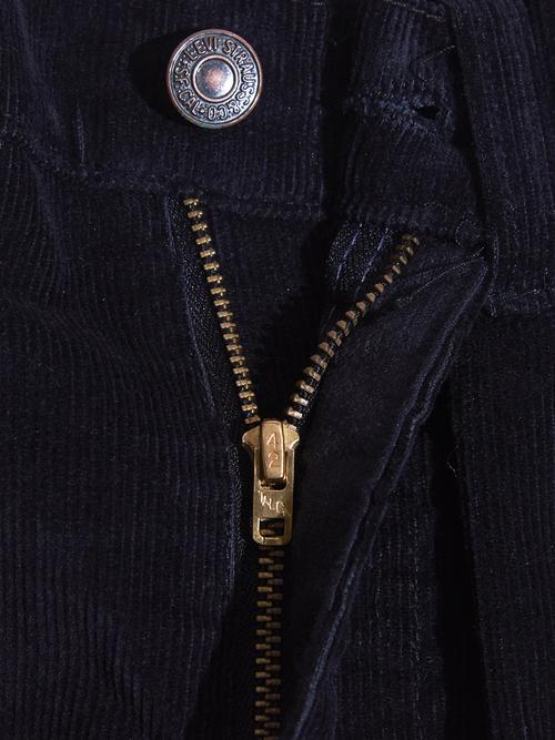 "NOS 1980s ""Levi's"" Lot.517 custom tuck corduroy pants -BLACK-"