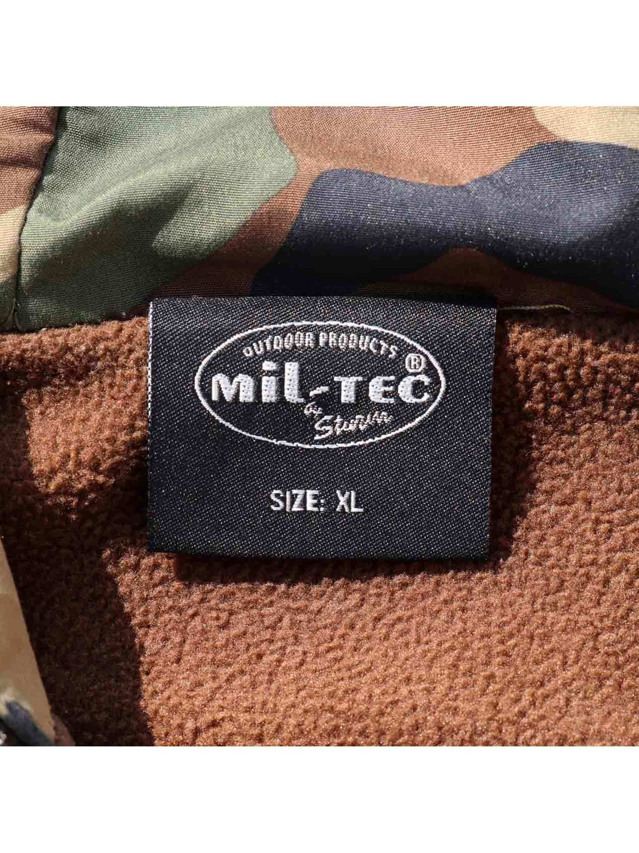 00's~ MIL-TEC Woodland Camo Anorak Parka [XL]