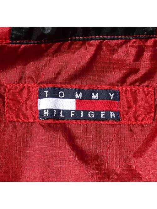 90's TOMMY HILFIGER ATHLETICS ナイロンアノラック [XL]