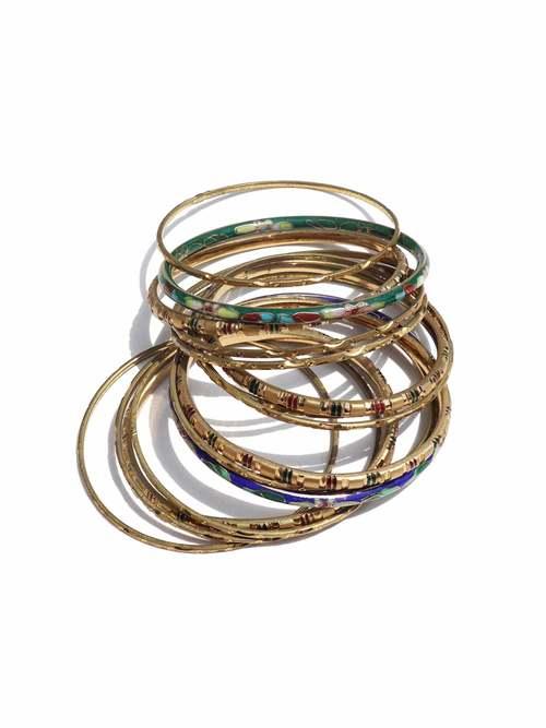 UNKNOWN 15 ream Brass Bangle