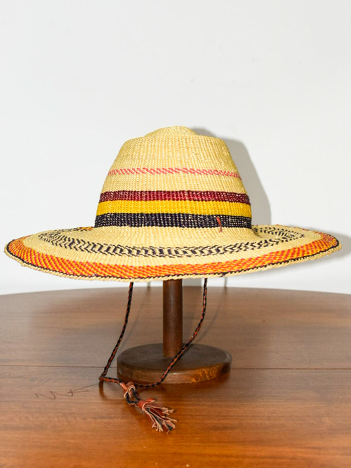 African straw hat / アフリカン ストローハット