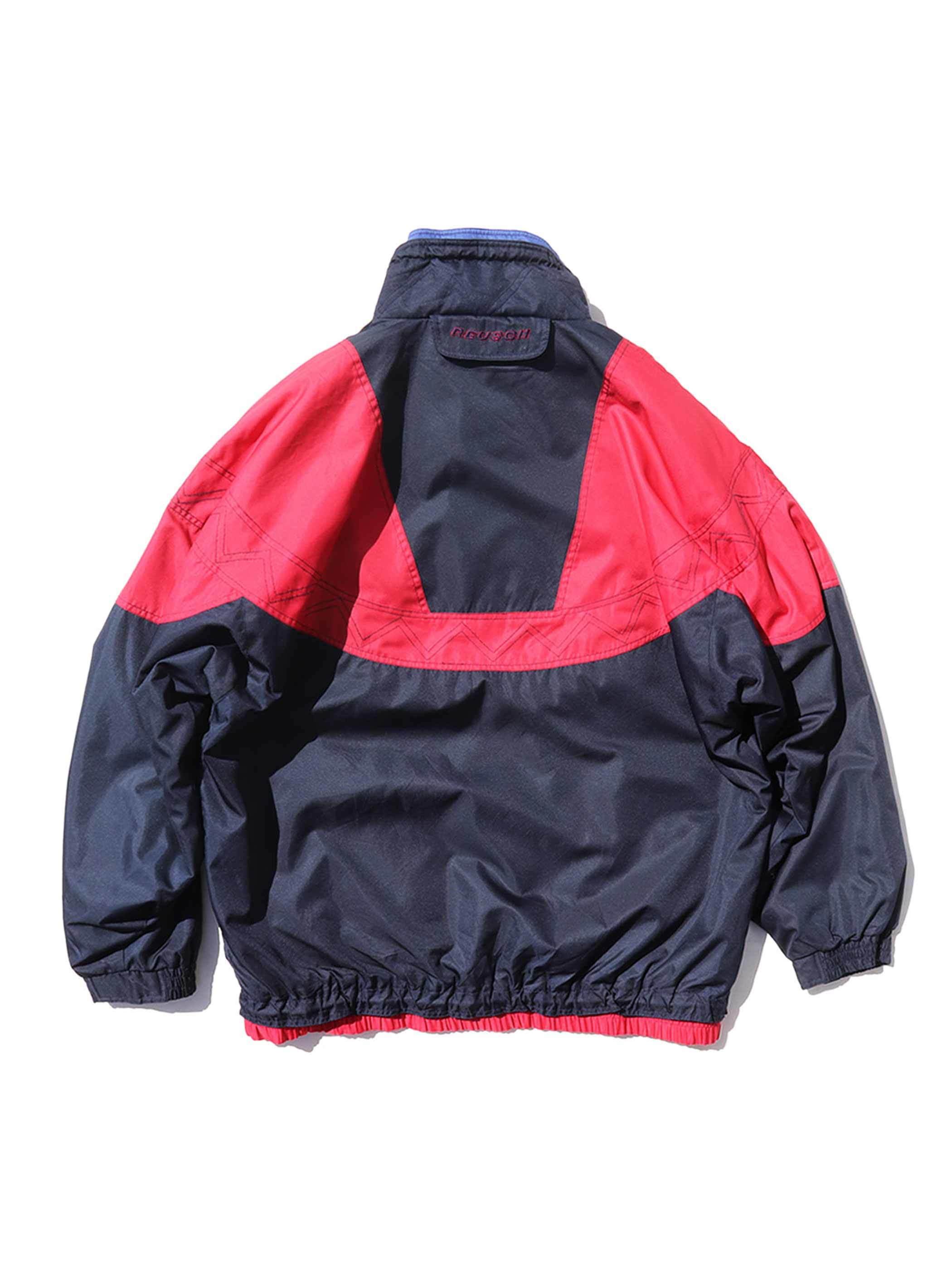 90's REUSCH Hook Front Anorak Parka [XXL]