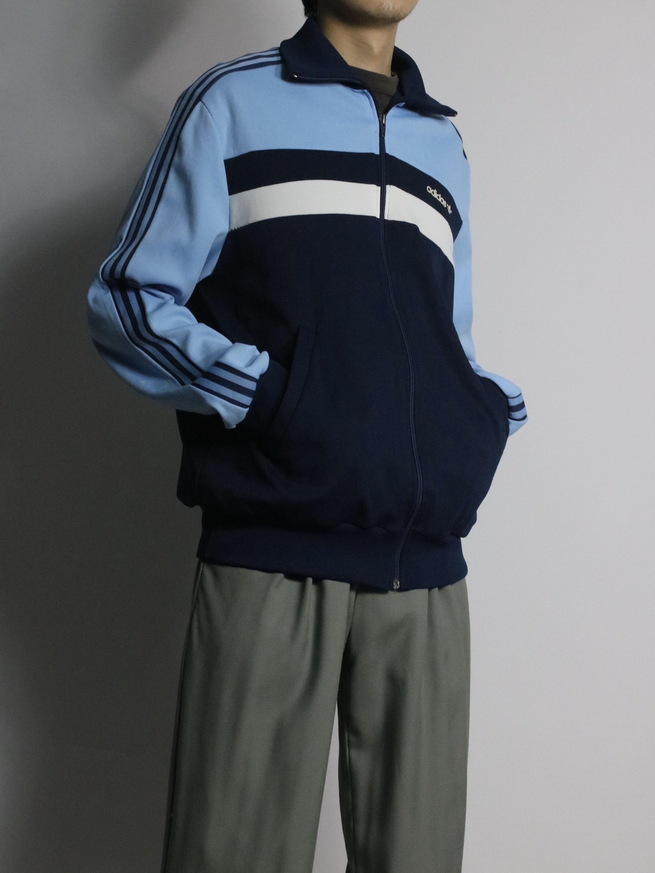 1980's adidas Track jacket / Made in Tunisia