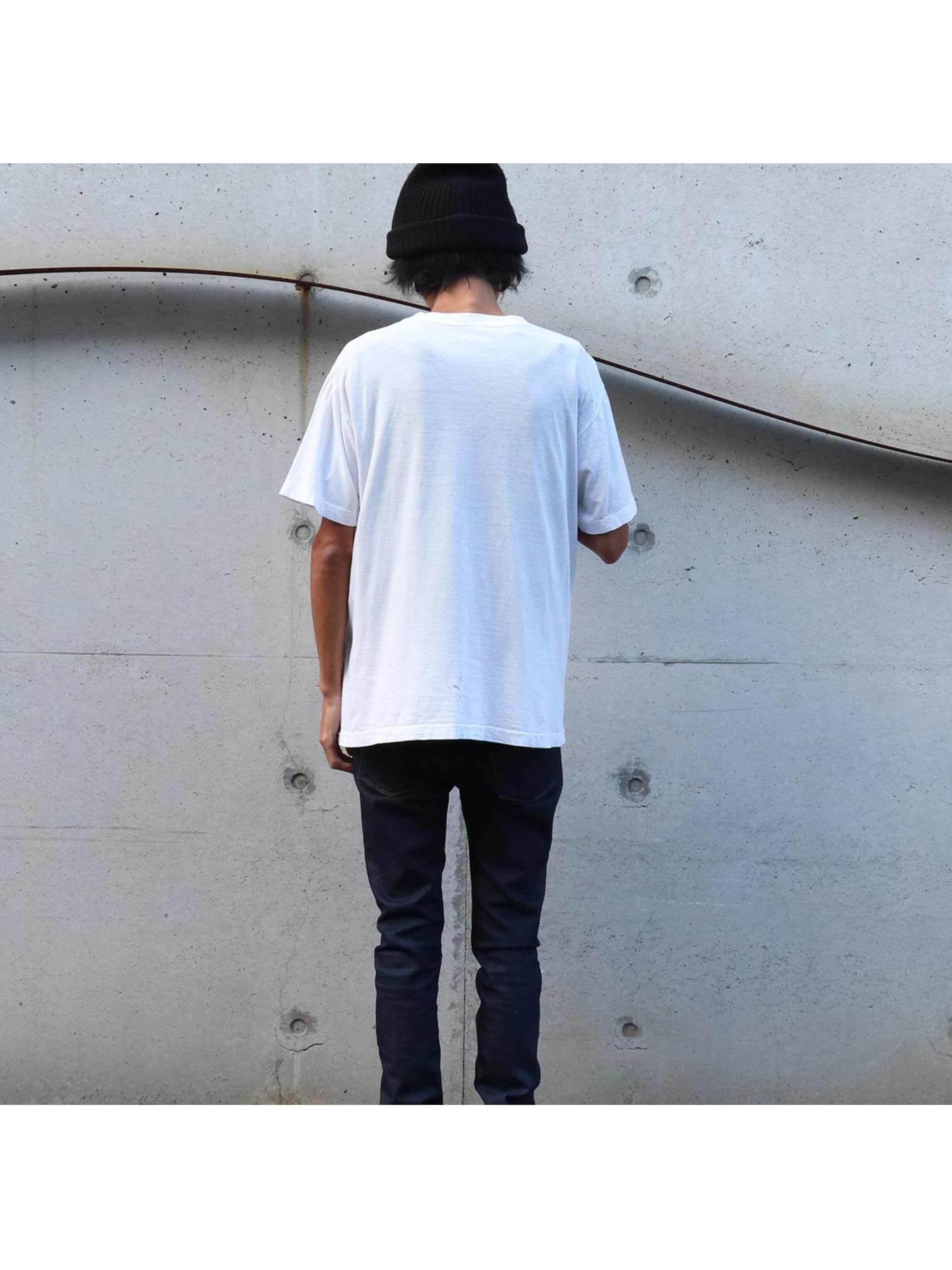 90's~ JOHANNES GUTENBERG アートTシャツ [L]