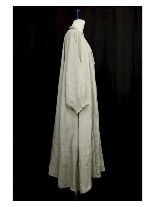 【SOLD OUT】smocking  DRESS - col.beige