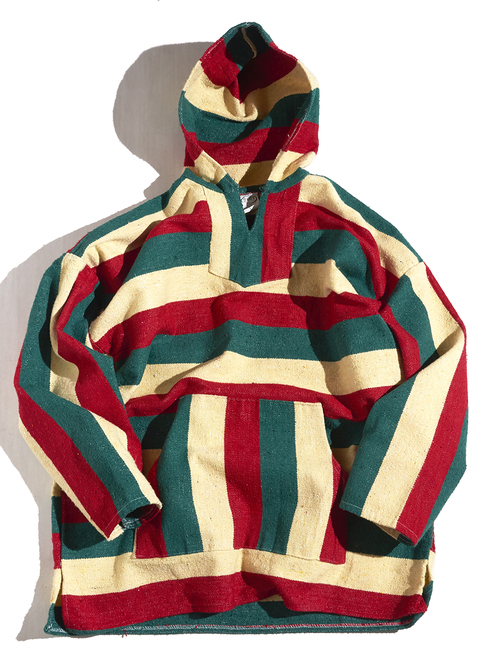 """1980s """"FRANK'S"""" mexican parka -GREEN-"""