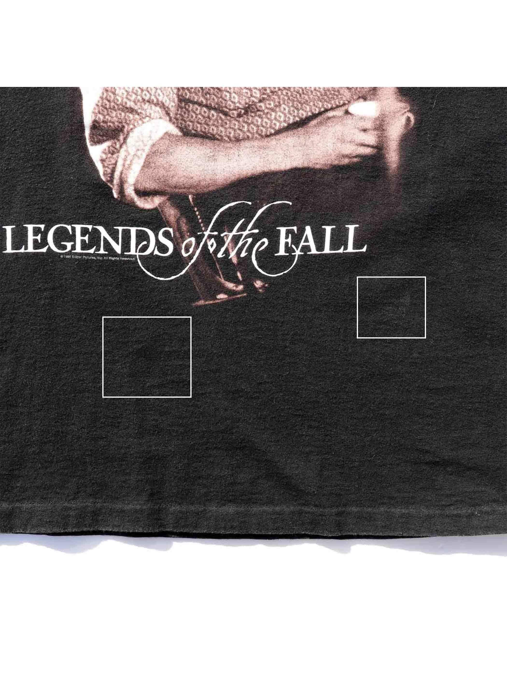 "90's BRAD PITT ""LEGENDS OF THE FALL"" プリントTシャツ [L]"