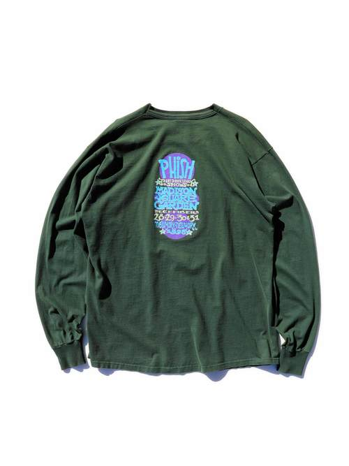 "90's PHISH ""THE HOLIDAY SHOWS 1998"" ロングスリーブTシャツ [XL]"