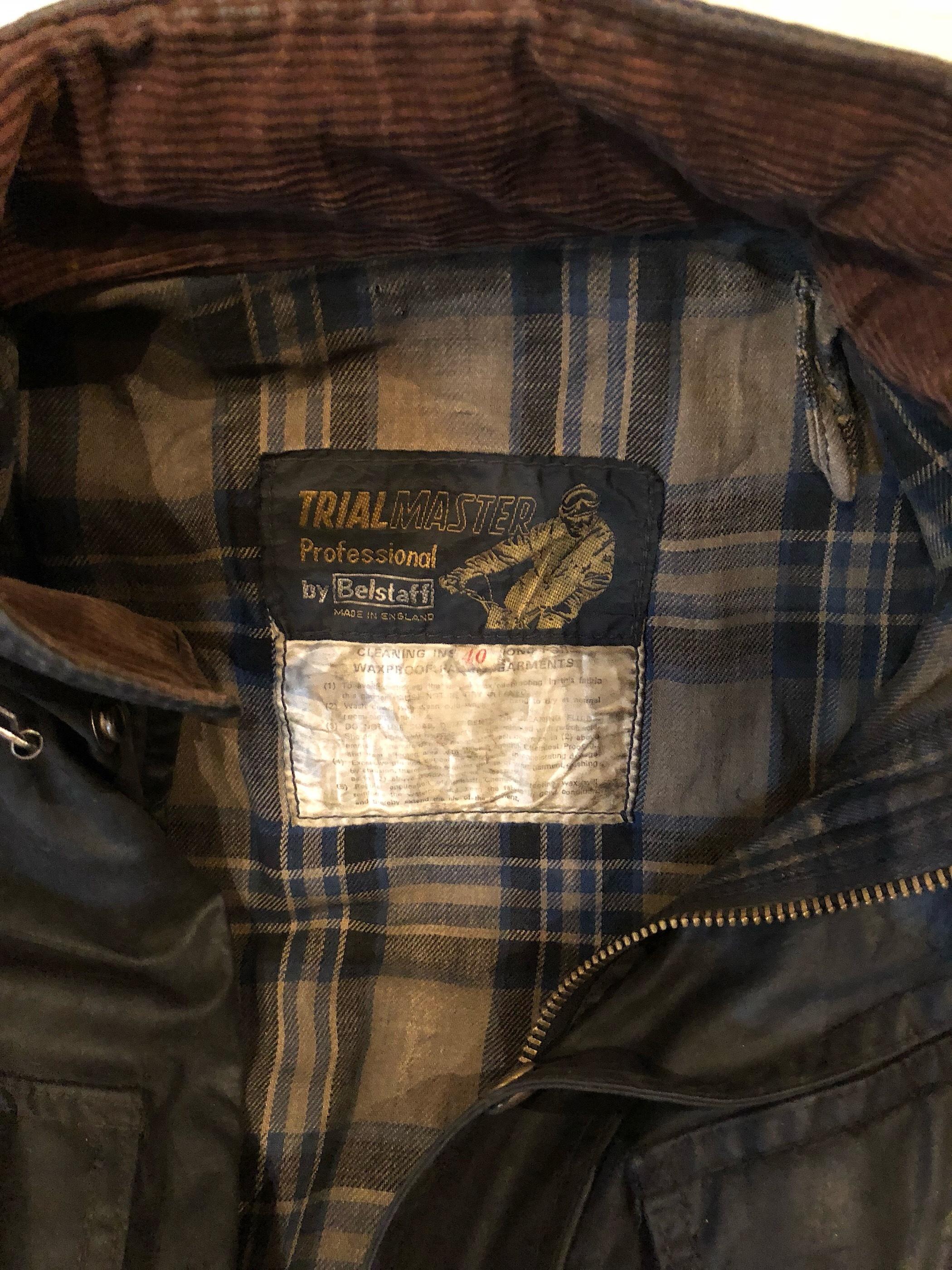 1960s Belstaff TRIAL MASTER waxed jacket
