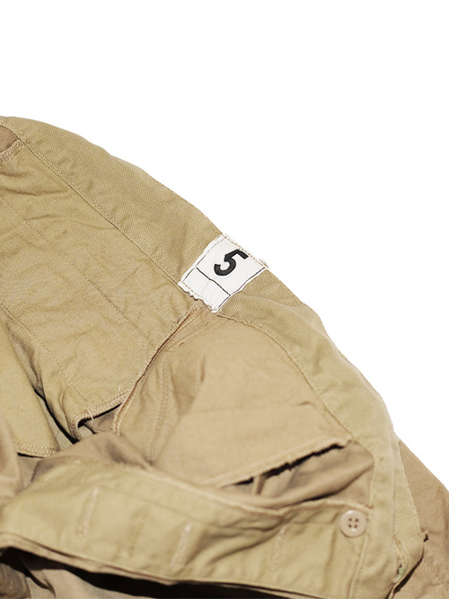 French Military / 1960'sDeadstock / Chino Short Pants