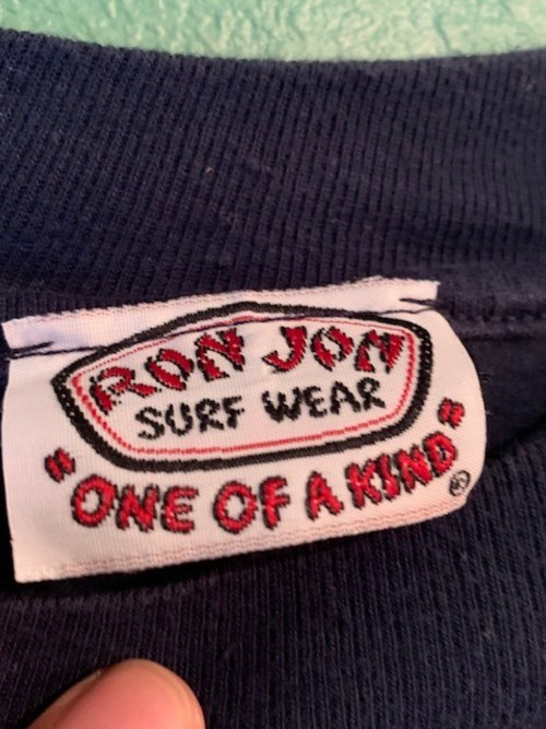 80s RONJON プリントTシャツ