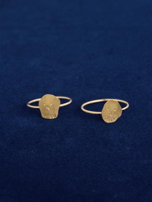 Skull series ring