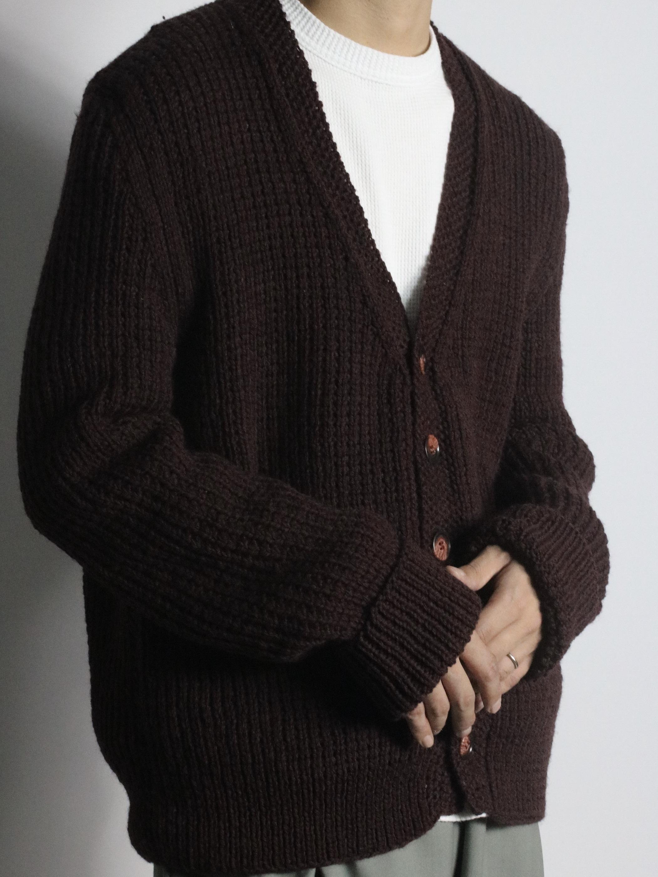 Dead stock Vintage Wool Knit cardigan