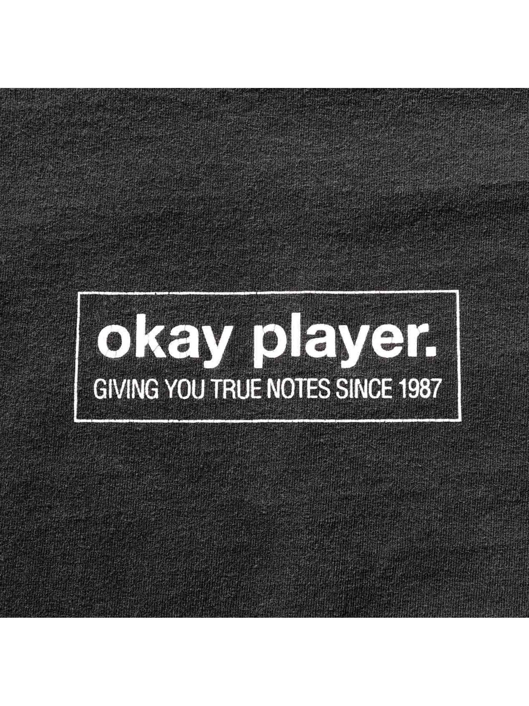 "90's RAHZEL / LEVI'S SILVER TAB ""MAKE THE MUSIC 2000"" OKAY PLAYERプロモTシャツ [XL]"
