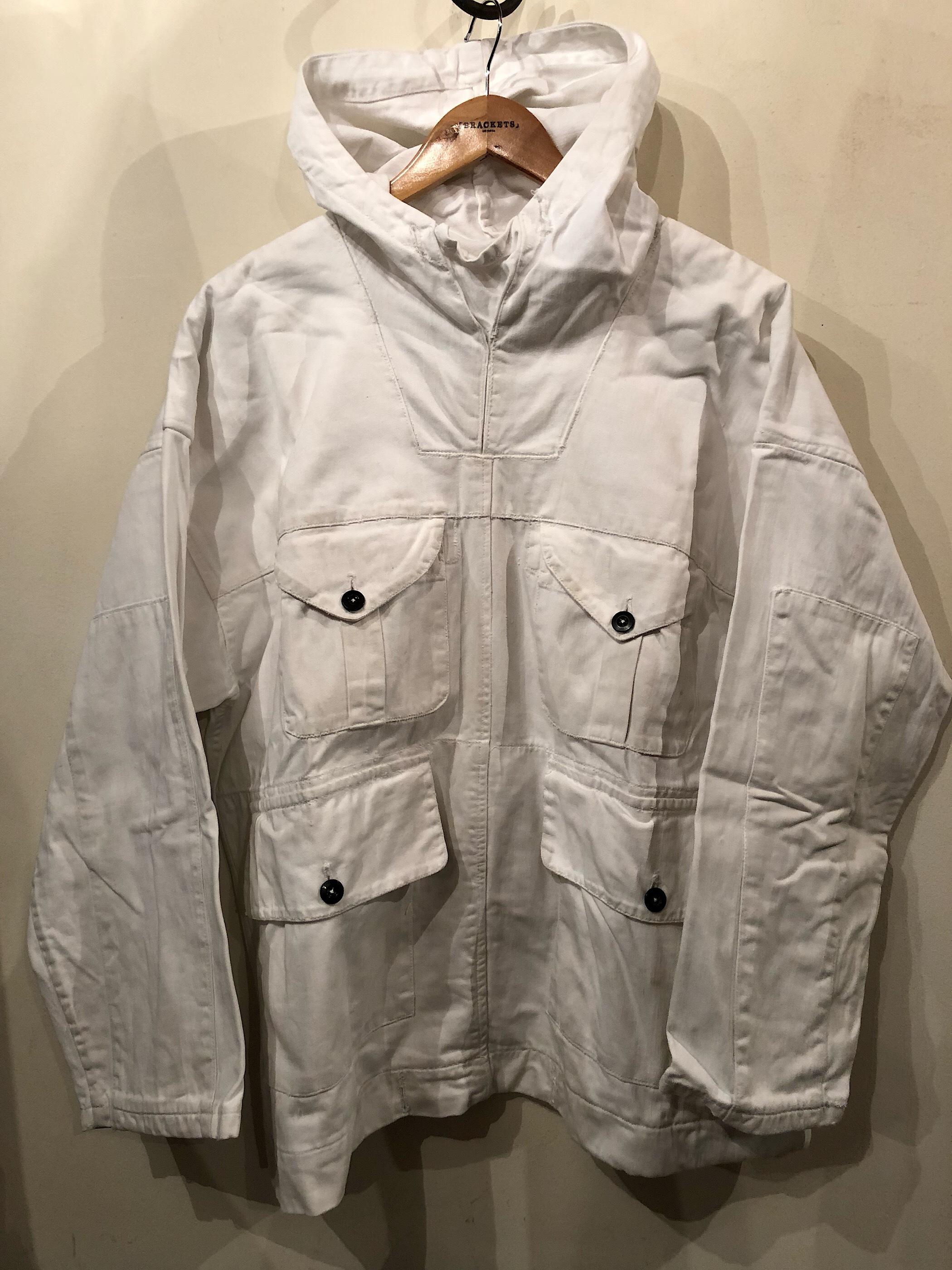 1940s Brirish SAS white cotton smock