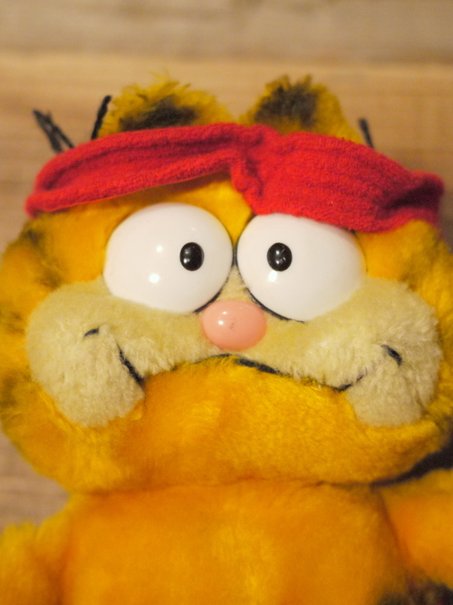 "GARFIELD Doll ""Exercise"""