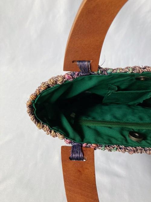 wood handle bag
