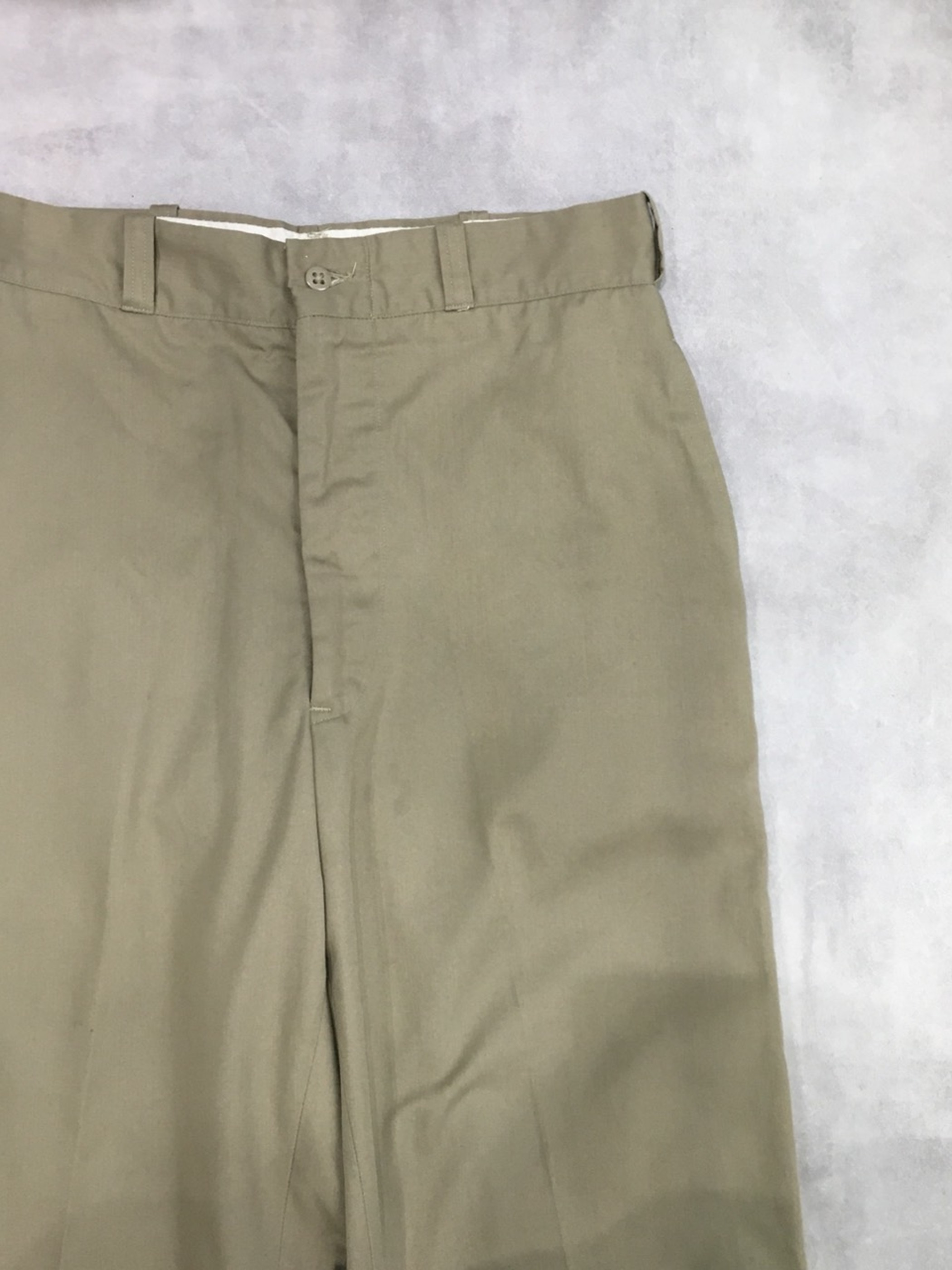 US ARMY cotton&polyester twill trousers