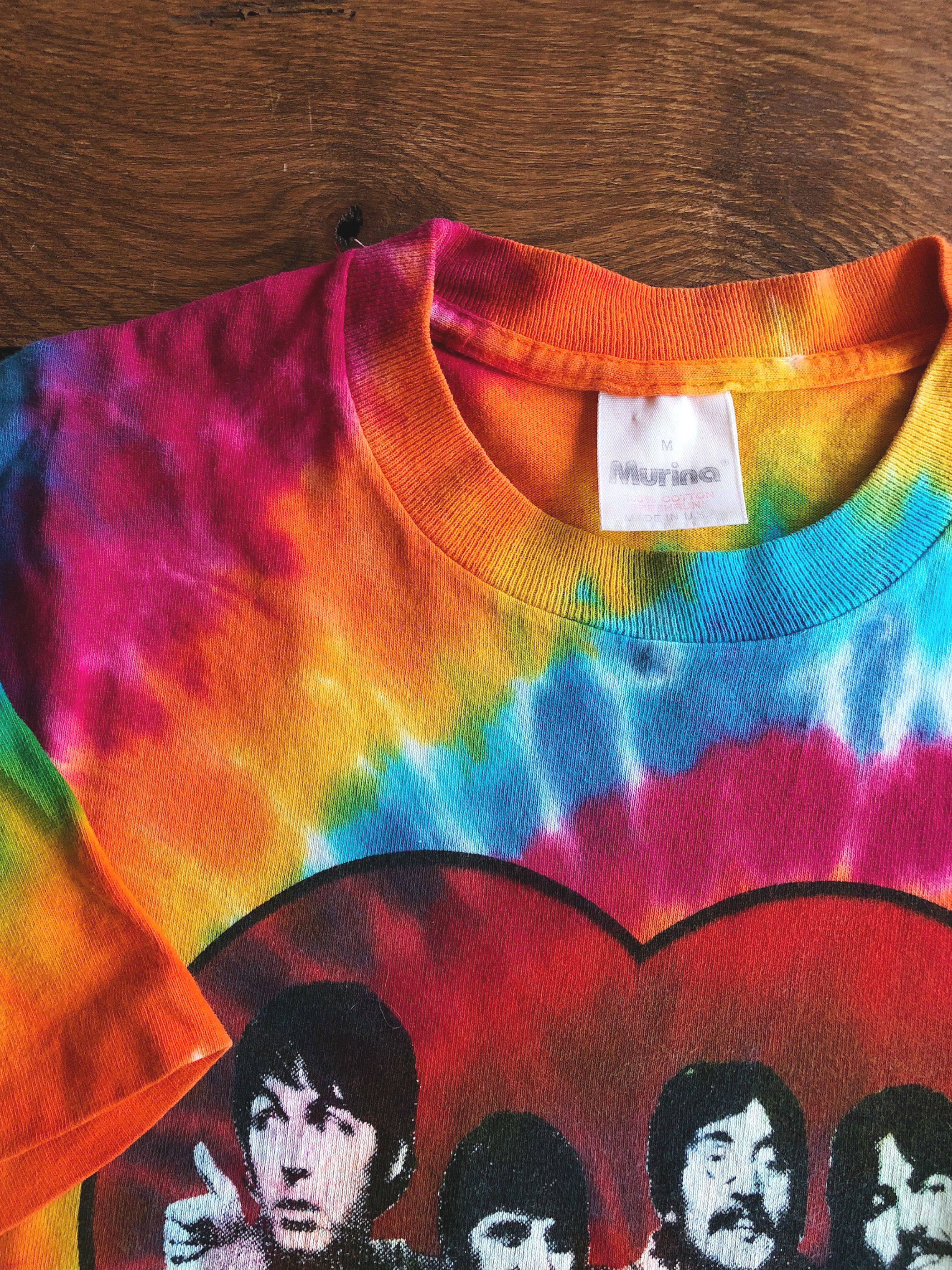 The Beatles/Sgt. Pepper's Lonely Hearts Club Band Tie-Dye T-shirt