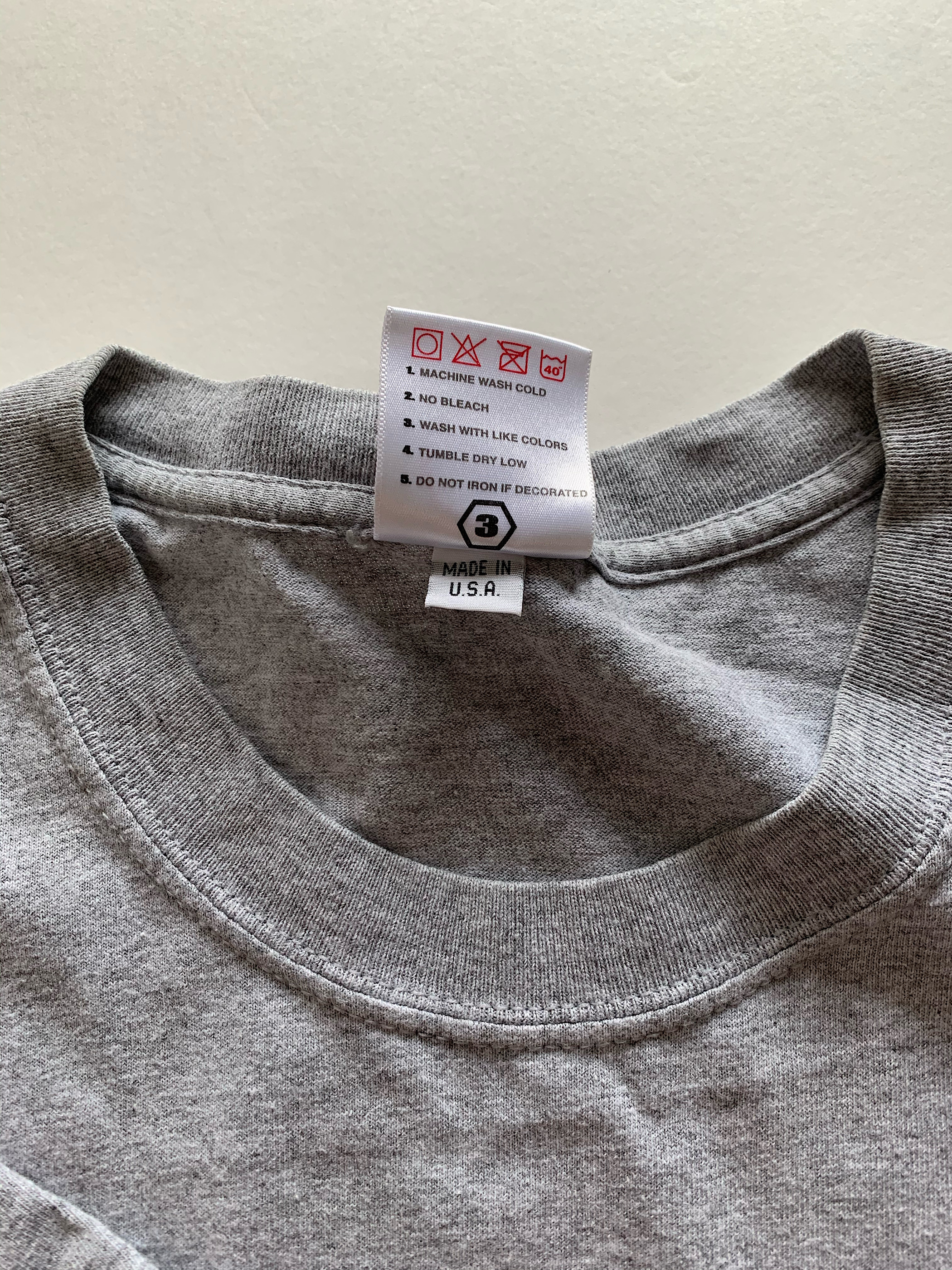 RECON tee/L/GRAY/USED