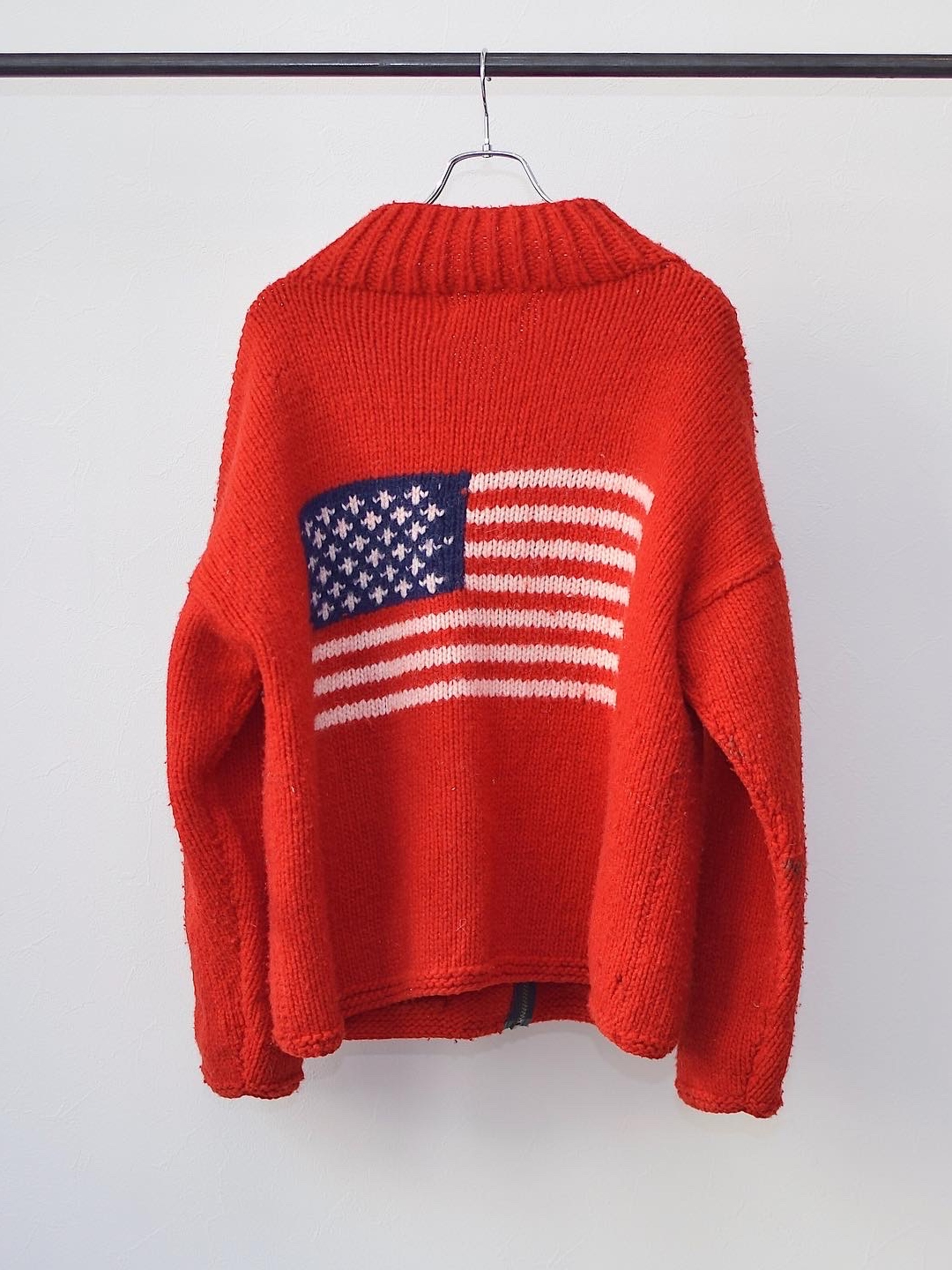 Vintage【MADE IN ECUADOR】Zip-up Knit