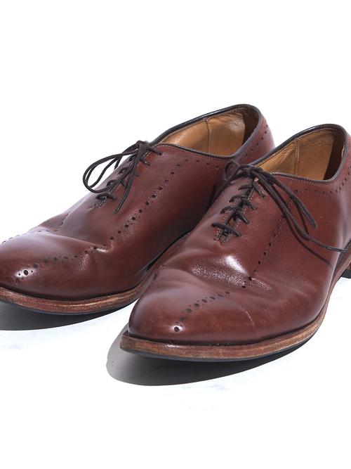 """1970s """"Allen Edmonds"""" leather shoes -BROWN-"""