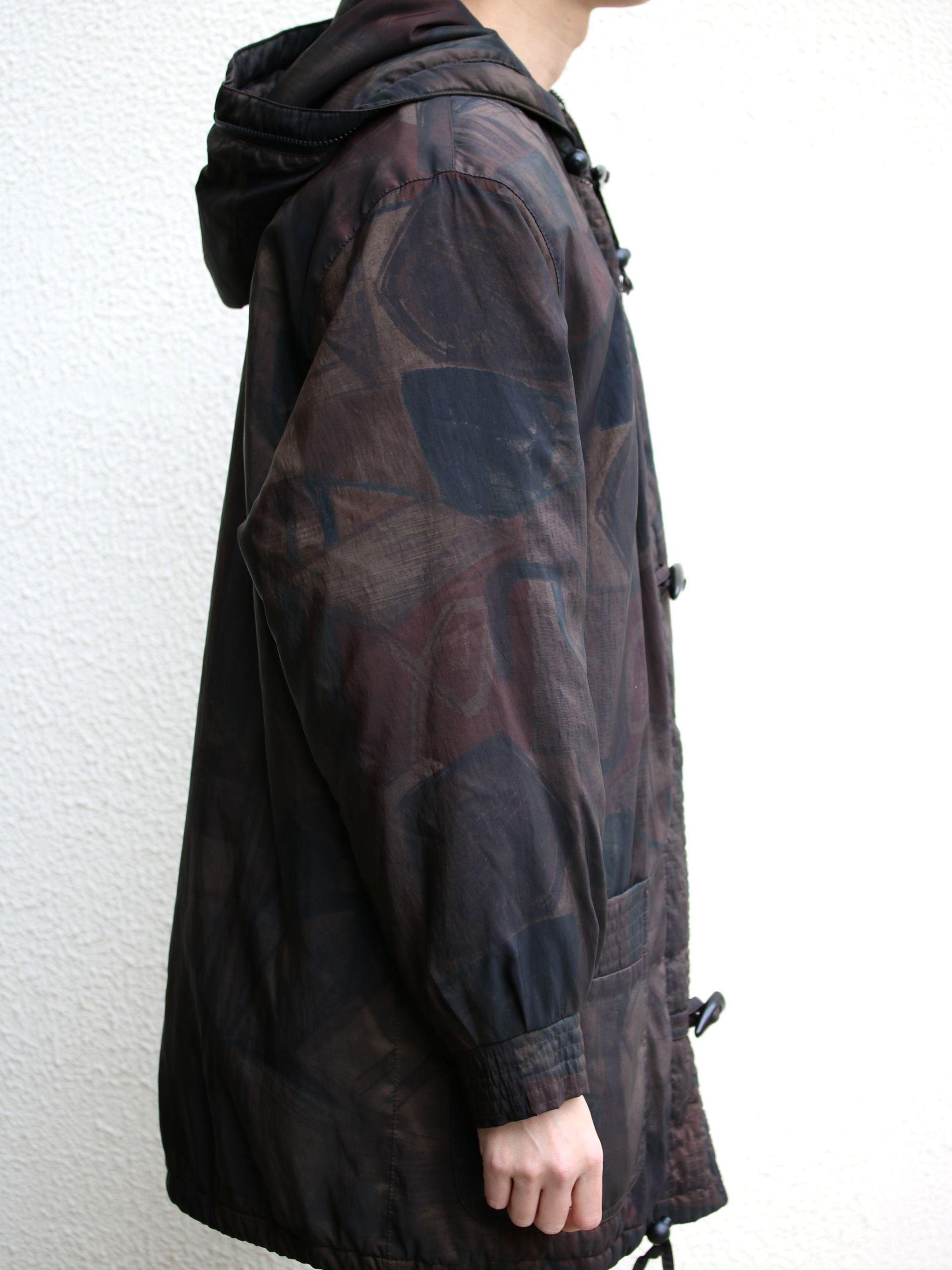 FORECASTER pattern padding nylon jacket
