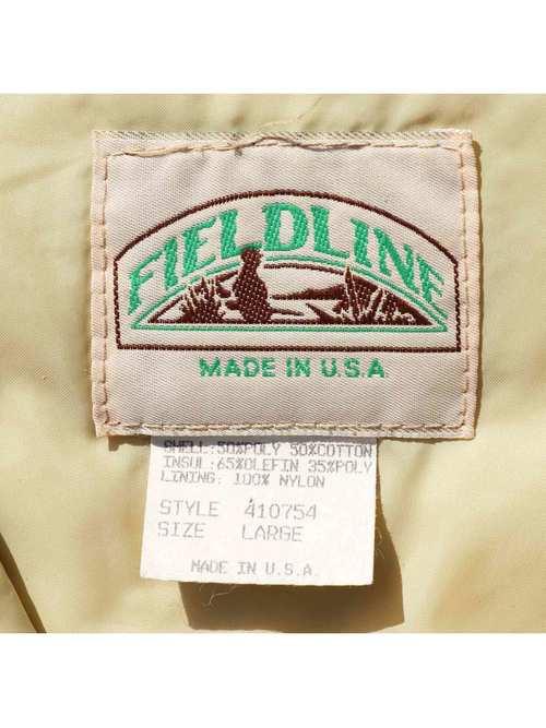 80's FIELDLINE USA製 ダックハンターカモ ハンティングジャケット [L]