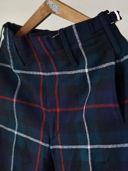 Dead stock Scotland Ceremony Wool Trousers