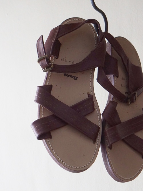 Dead Stock 90's BRITISH ARMY Bata Leather  Sandal Dead Stock
