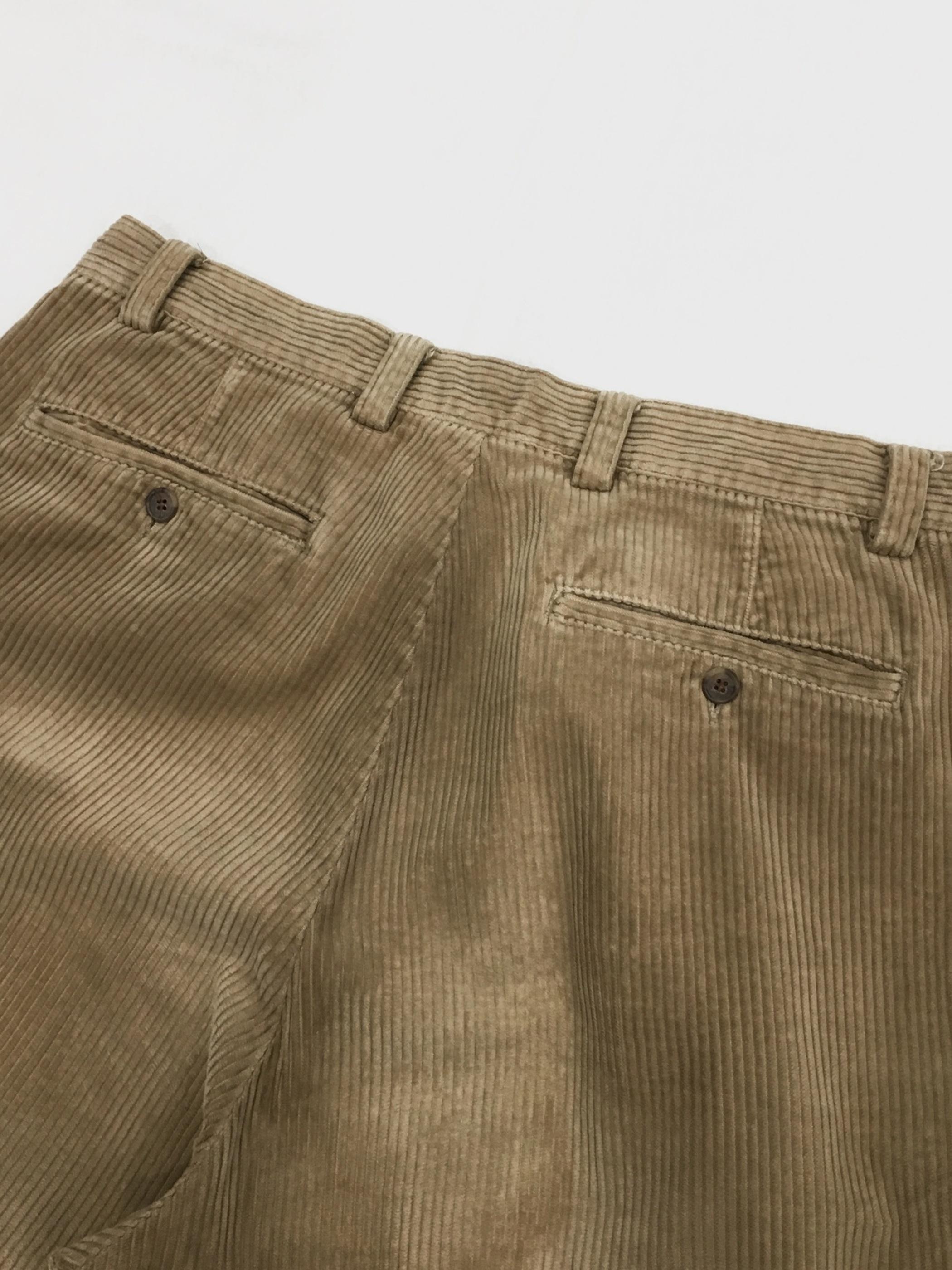 OLD GAP 2tuck corduroy pants