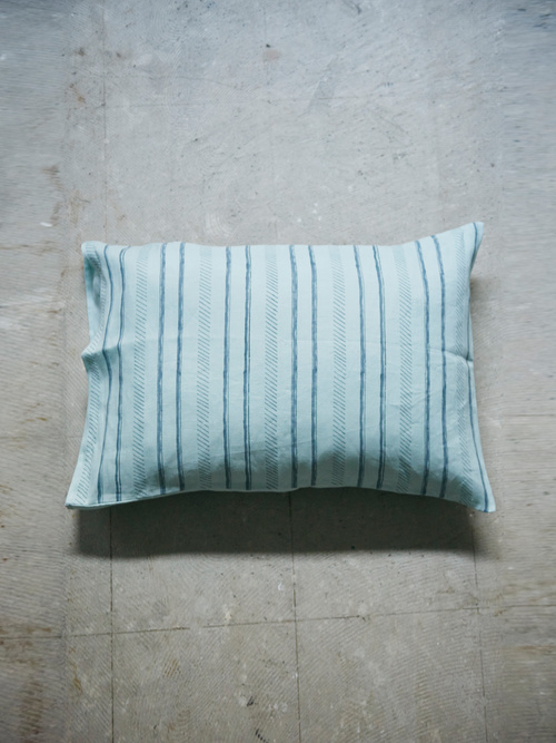 Trail Pillow Cover - Mint -