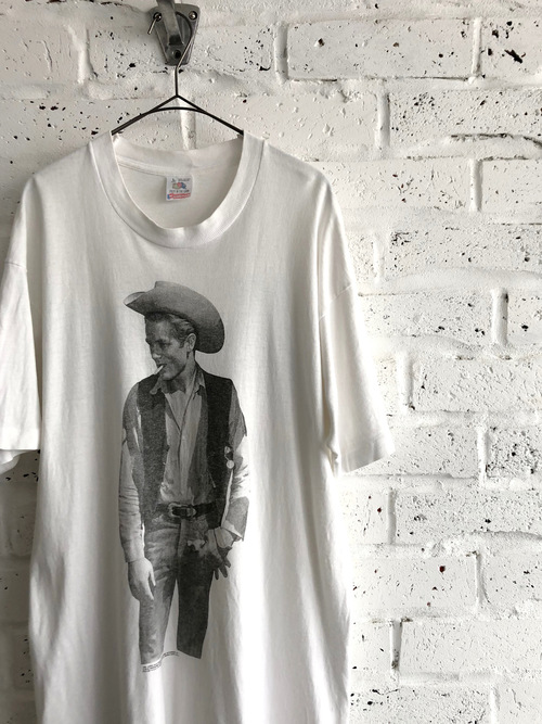 James Dean《Giant》90's Old Movie T-shirt