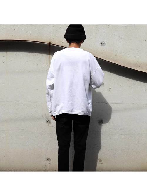 90's ESPRIT 刺繍ロゴ スウェットTシャツ [L]