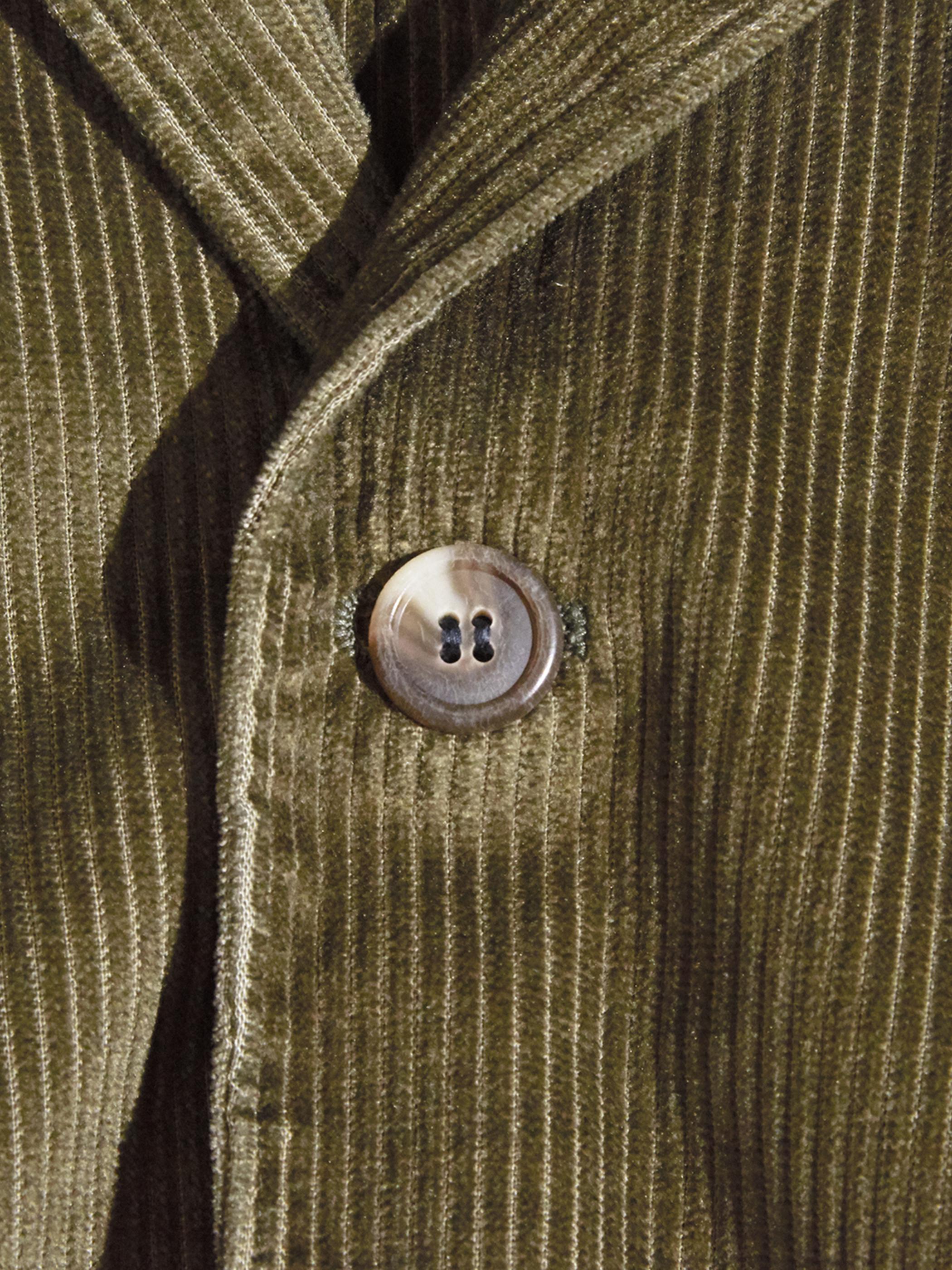 "1960s ""BRENT"" corduroy tailored jacket -DARK BEIGE-"