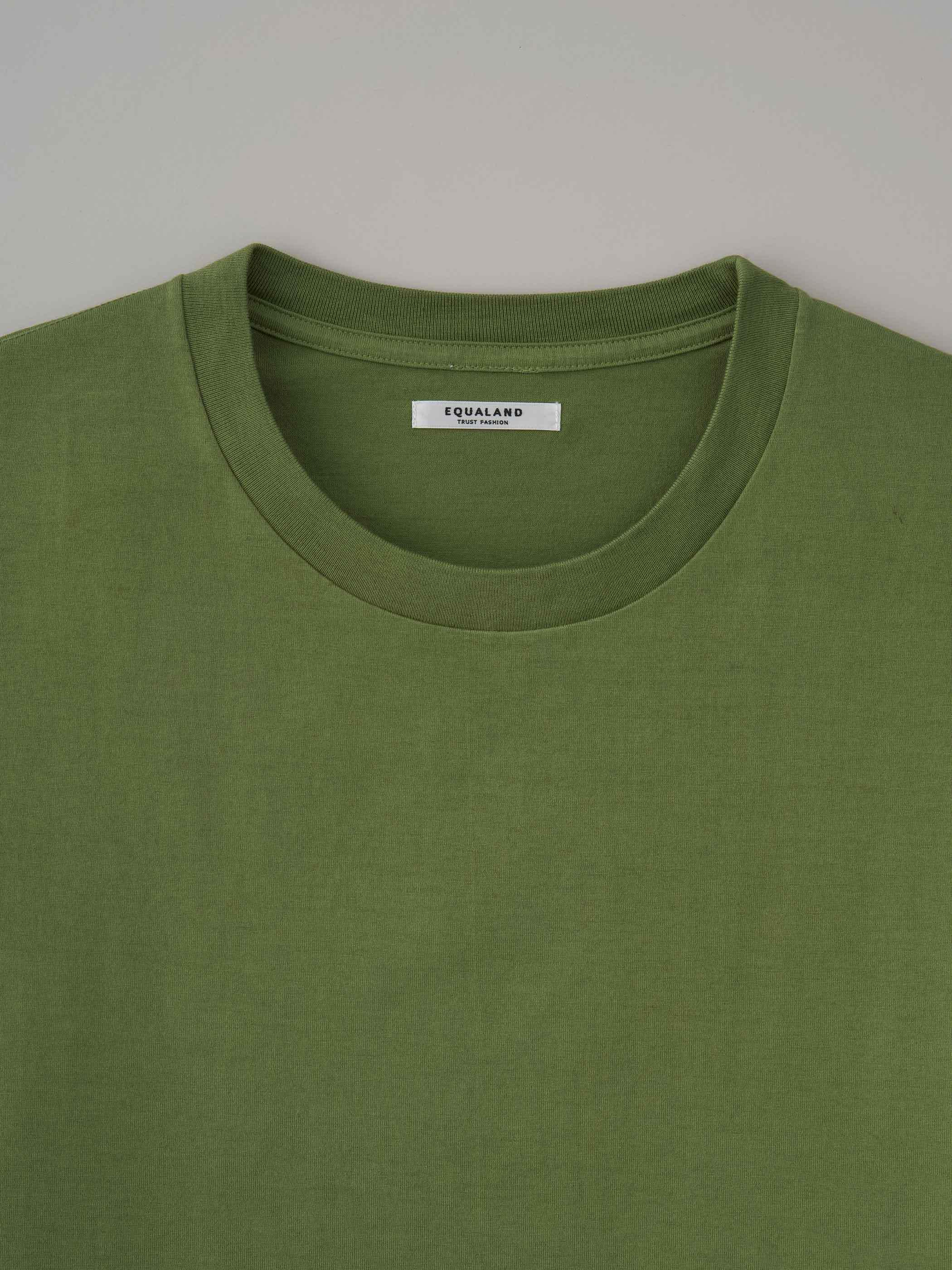 丸胴ロングスリーブTシャツ #09ケール
