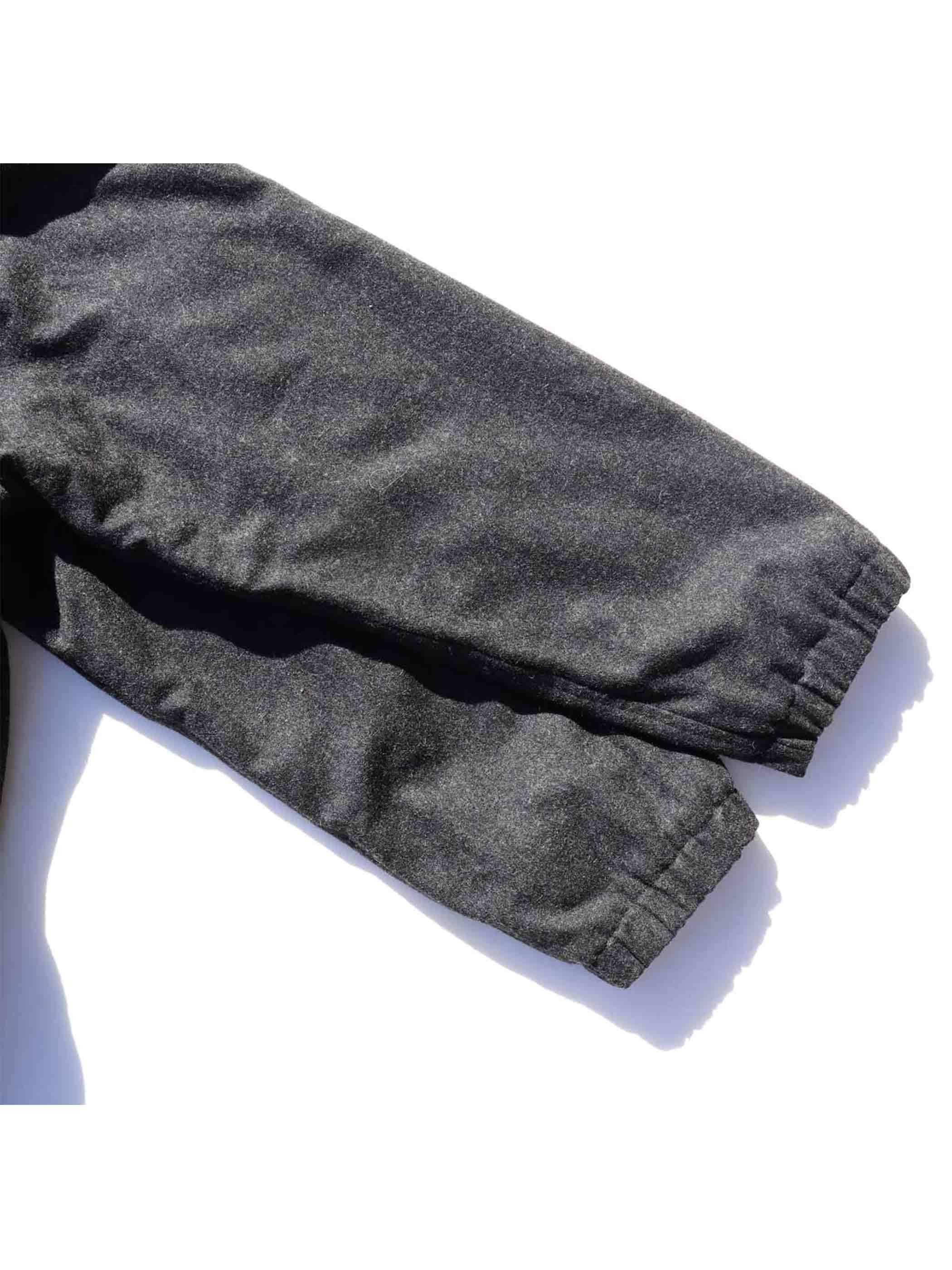 90's DKNY ウールレーヨン フリースライナー セーリングジャケット [S]