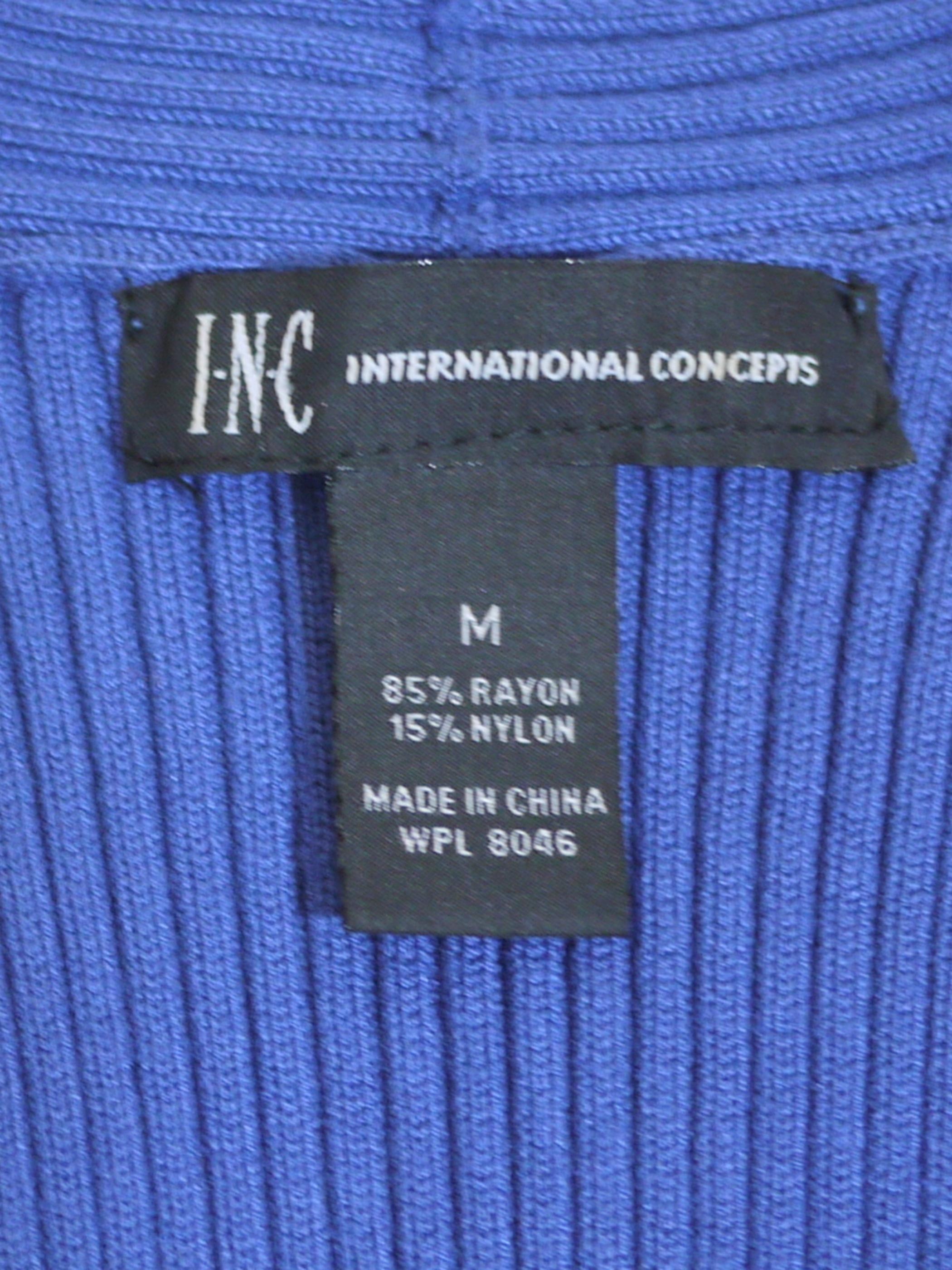INTERNATIONAL CONCEPTS Sleeveless Tops SizeM