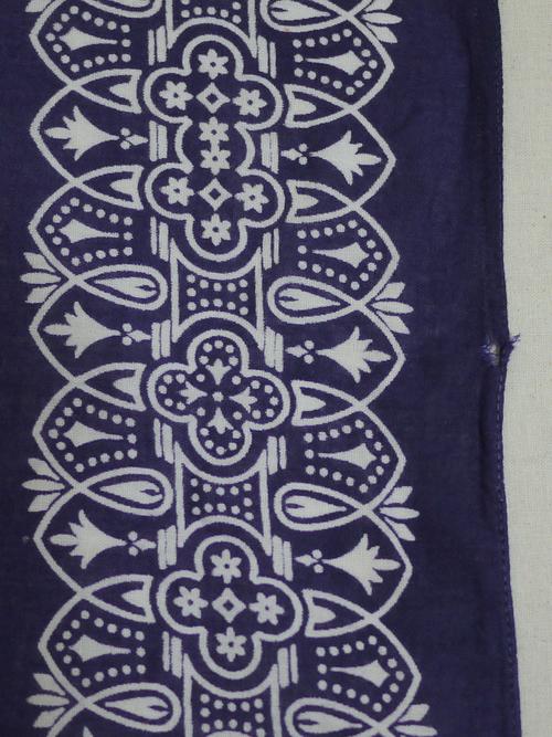 WASHFAST COLORS 1960's Bandana