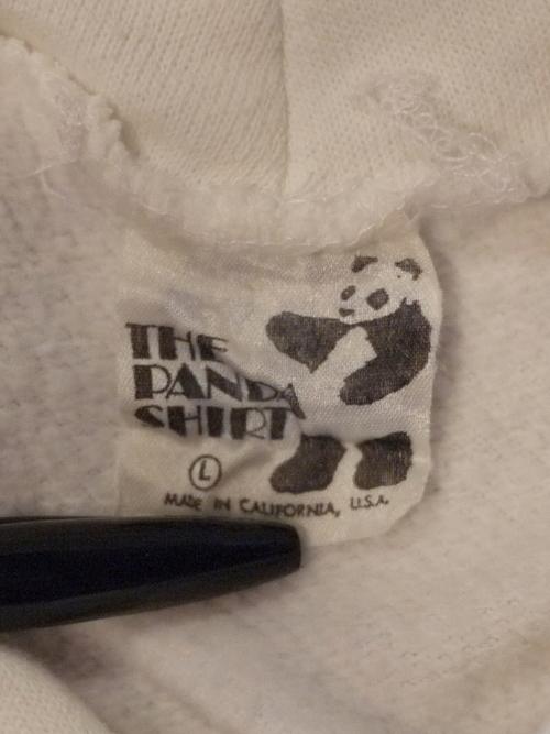 THE PANDA SHIRT Sweat parka SizeL