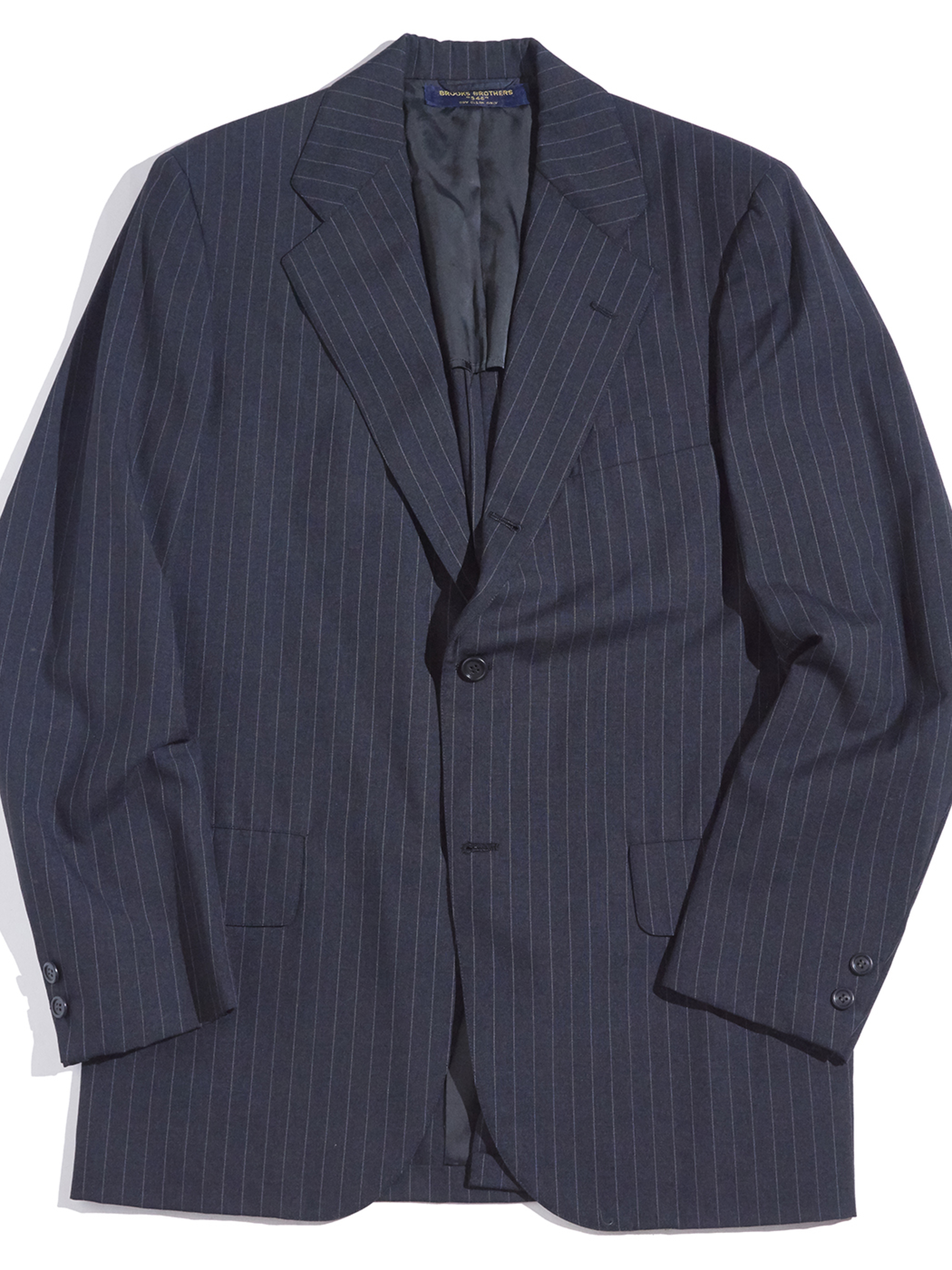 """1980s """"BROOKS BROTHERS"""" 2piece No.1 sack suit -CHACOAL-"""