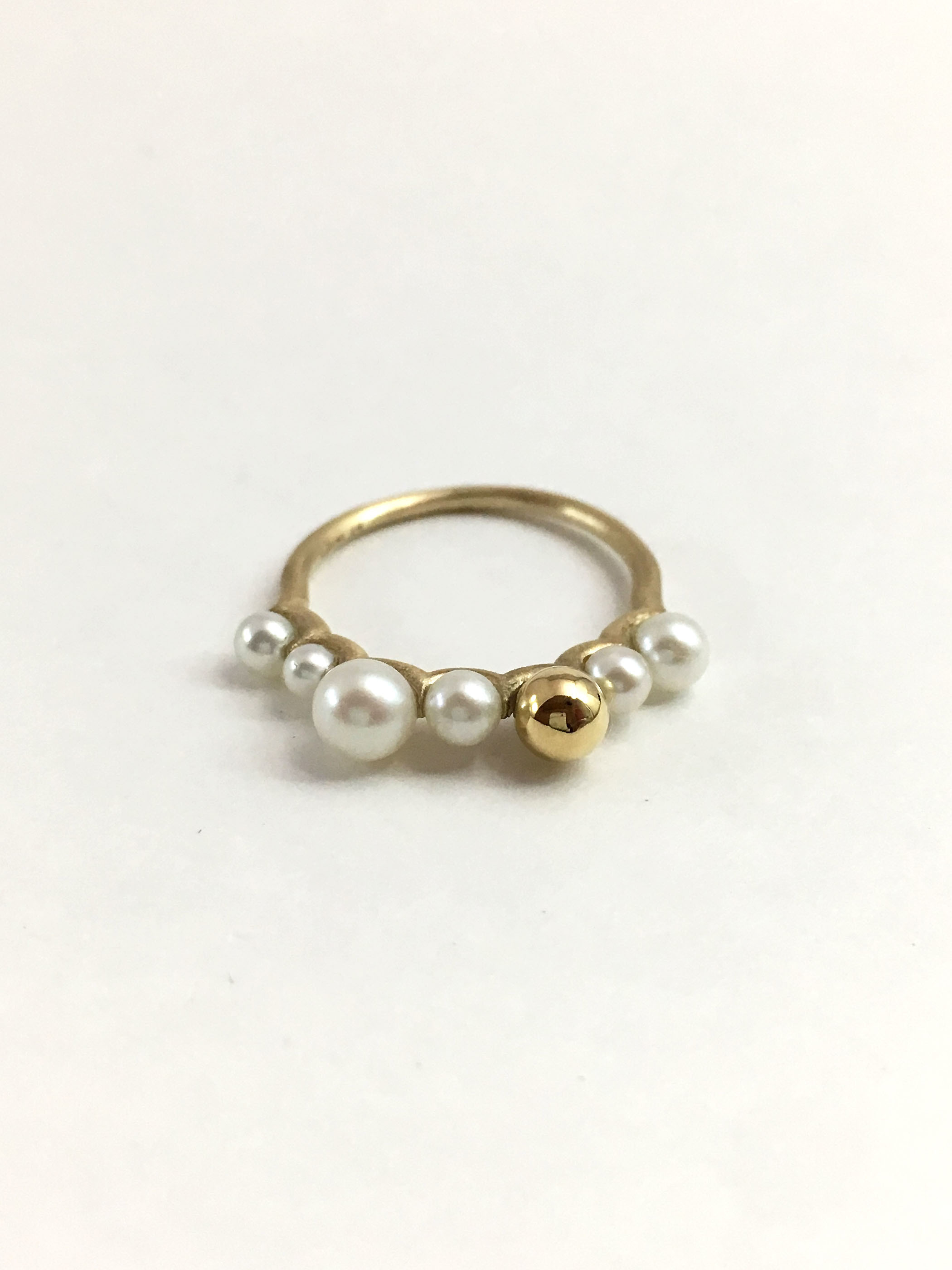 7 BUNNY TAIL RING