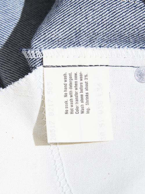 "NOS 1980s ""Levi's"" Lot.517 denim pants -INDIGO-"
