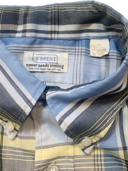 1960's BRENT Button down shirt