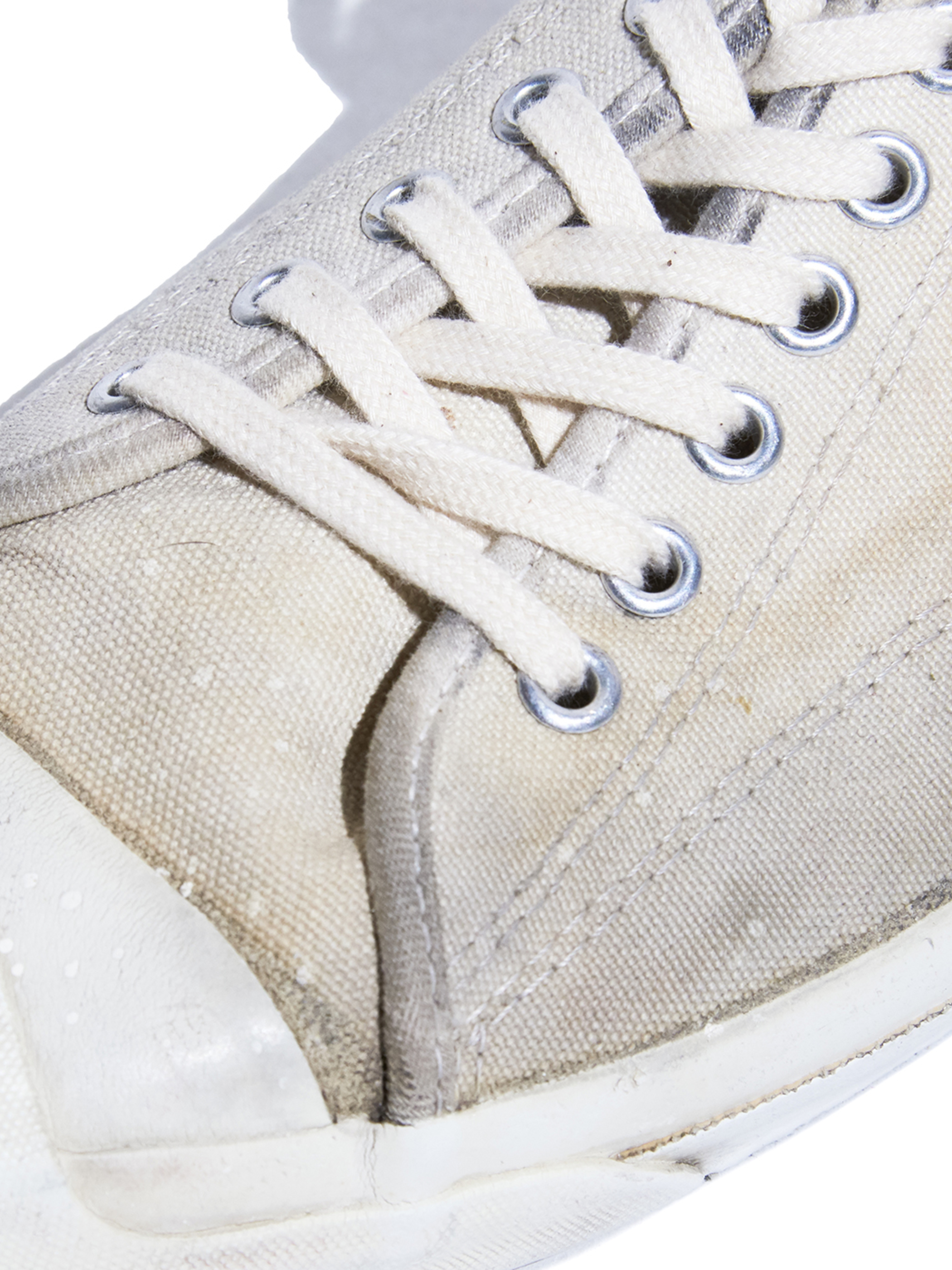 "1980s ""CONVERSE"" JACKPURCELL canvas sneaker -WHITE-"