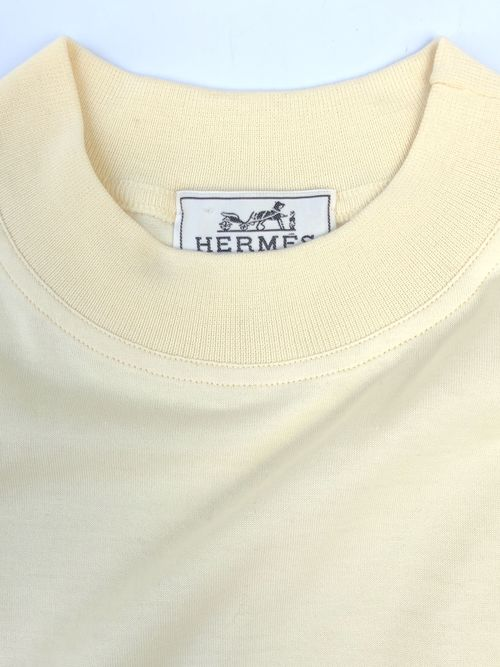 HERMES / high neck pocket tee(DEAD STOCK 箱付き)