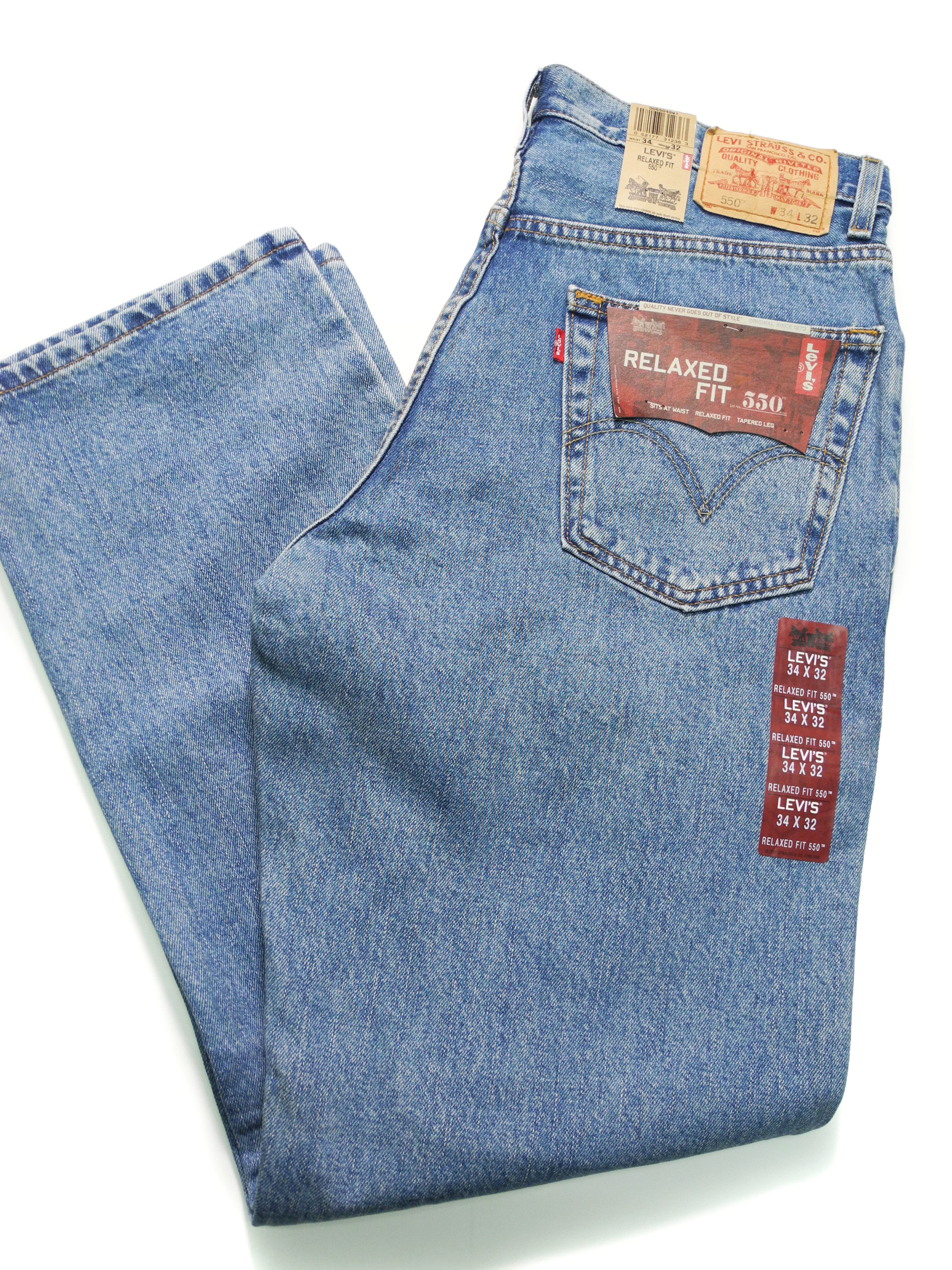 DEADSTOCK 550 RELAXED TAPERED LEG JEANS