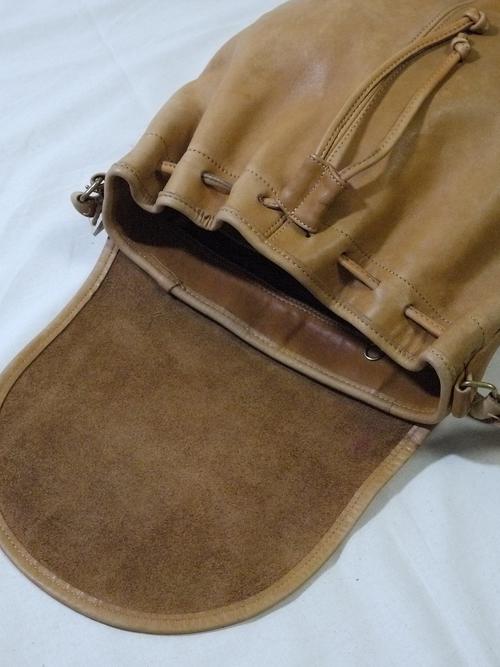 """Old COACH Leather shoulder Bag """"Camel"""""""