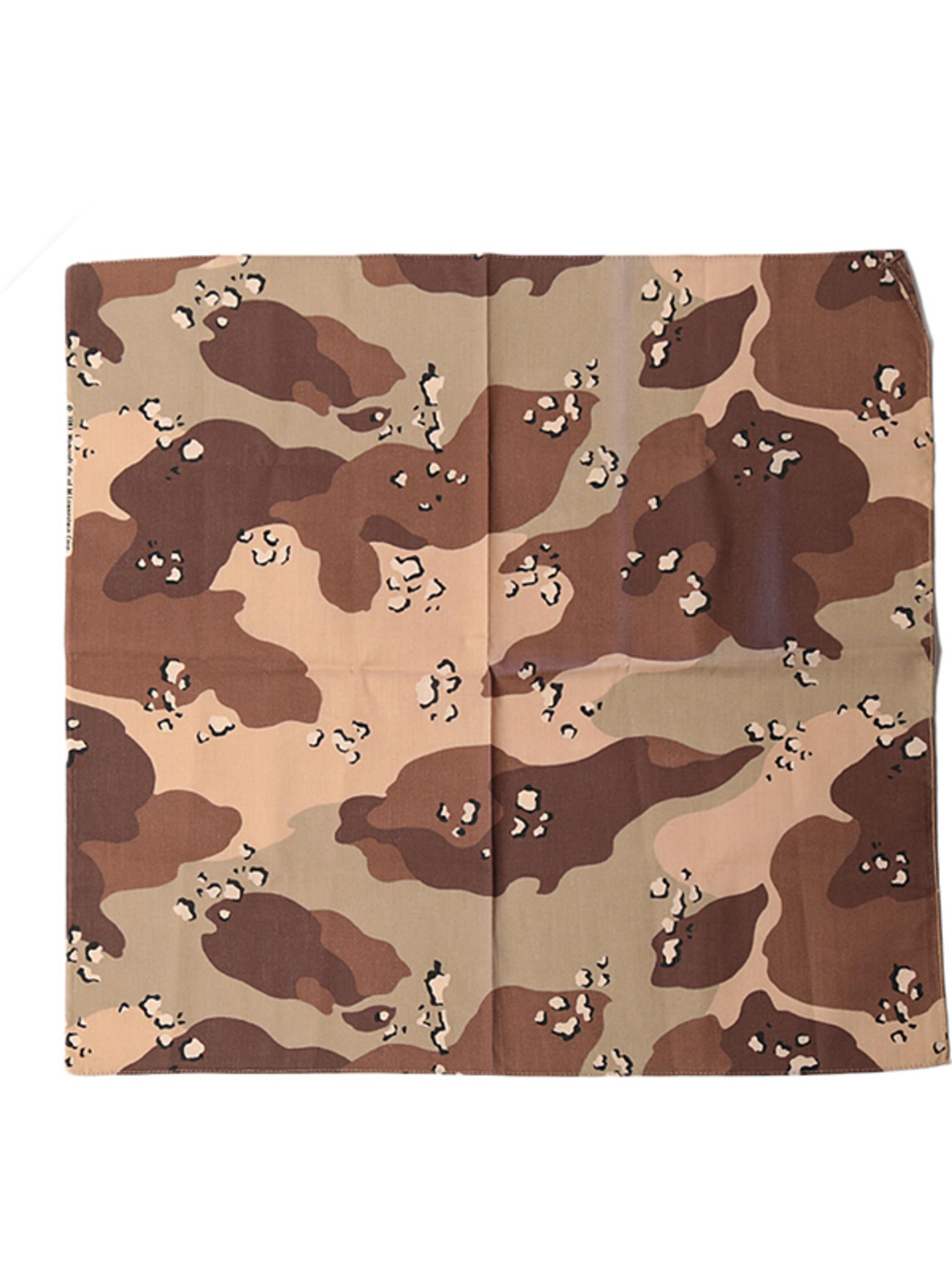 1980's Deadstock / Camouflage Bandana
